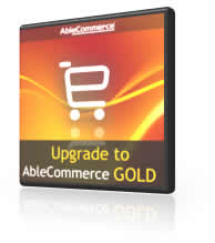 Upgrade to AbleCommerce Gold